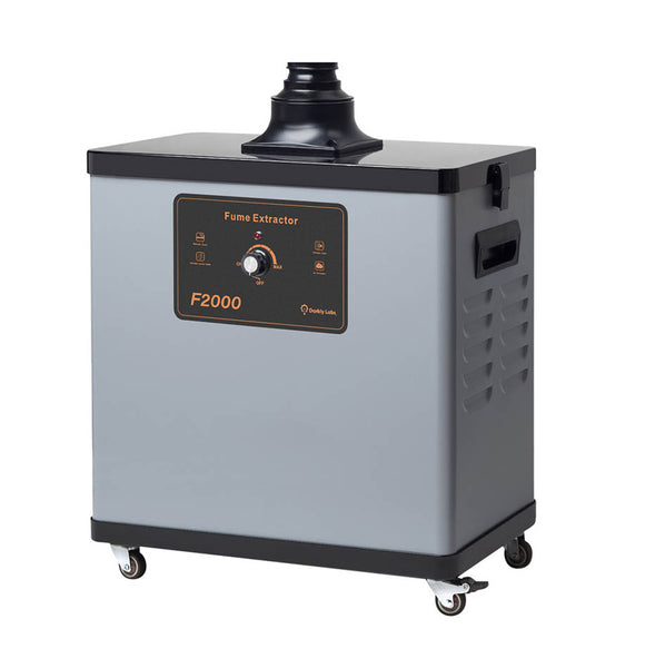 F2000 Fume Filtration System for Emblaser 2 Laser Cutter/Etcher