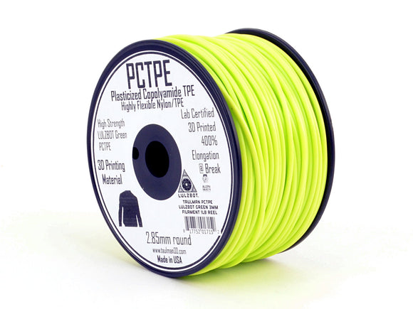 Taulman PCTPE 3D Printer Filament - 3mm, 1lb Reel
