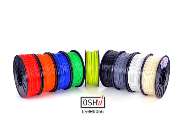 IC3D ABS 3D Printer Filament - 3.00mm Filament, 5lb Reel