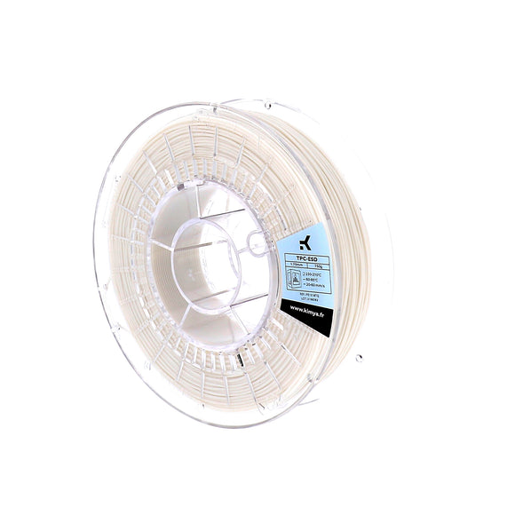 Kimya TPC-ESD Flexible 3D Printer Filament - 750G Spool - 1.75mm