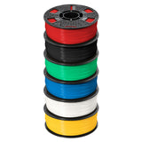 Afinia 1.75mm ABS Premium PLUS Filament 6 Pack