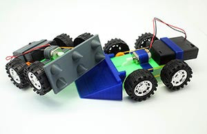 3D Printing STEM Curriculum Kit - Demolition Derby Dash