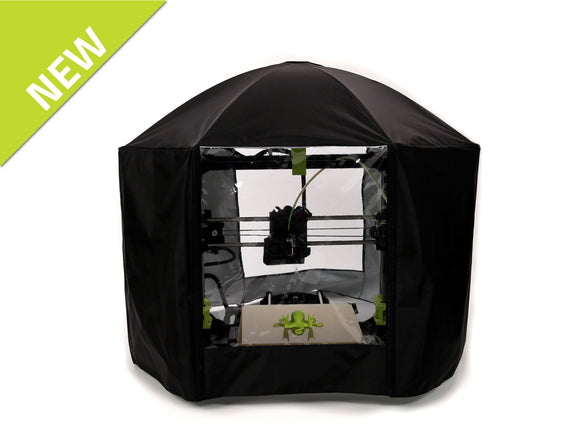 Nylon LulzBot 3D Printer Enclosure by galaxG Design World