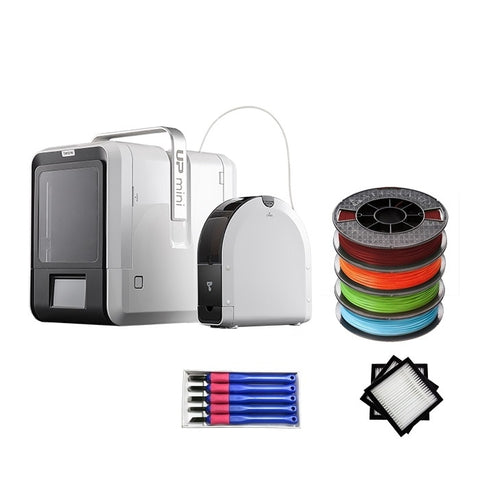 Tiertime UP Mini 2 3D Printer Educational Bundle