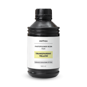 Zortrax Resin FLEXIBLE - 3D Printing Resin for Zortrax Inkspire - 500ml