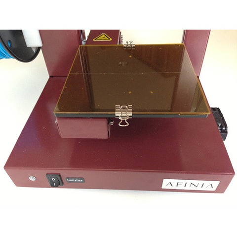Borosilicate glass platform for Afinia and UP! 3D Printers