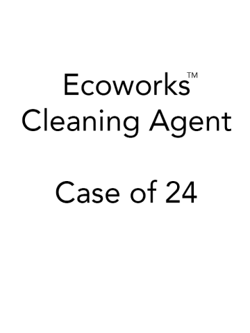 Ecoworks Cleaning Agent - 24 Packets