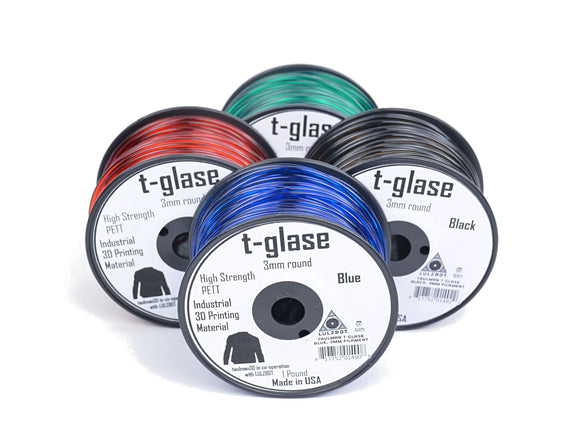 Taulman T-glase 3D Printer Filament - 3mm, 1lb Reel