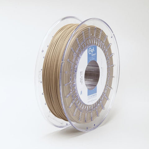 CraftBot Wood PLA Filament for 3D Printing - 1.75mm Diameter, 0.6kg Spool