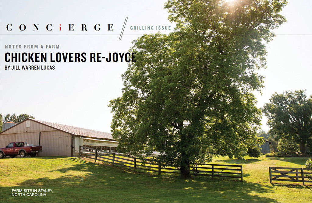 "Joyce Farms Featured in ""The Local Palate"""