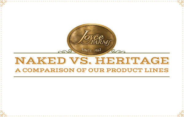 Naked vs. Heritage - What's the Difference?