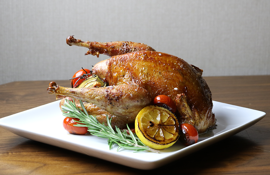 Whole Roasted Pheasant