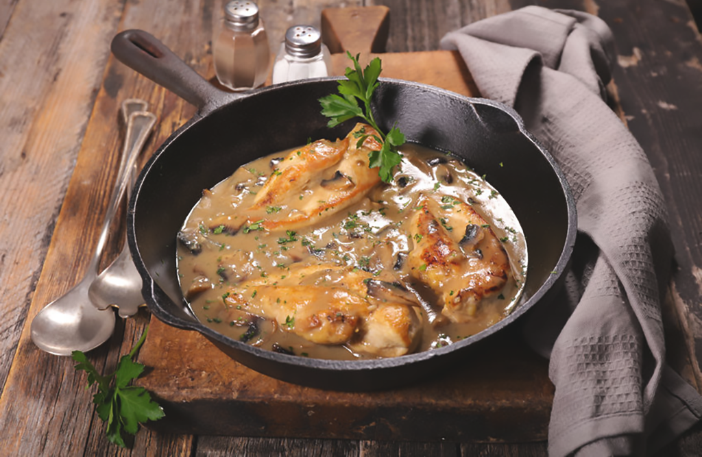 Chicken Supreme with Mushroom Cream Sauce