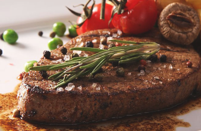 Spice-Rubbed Grilled Top Sirloin Steaks