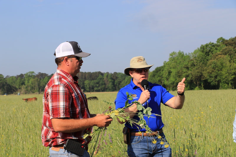 Dr. Allen Williams Explains Soil Health Principles in Regenerative Agriculture at Joyce Farms