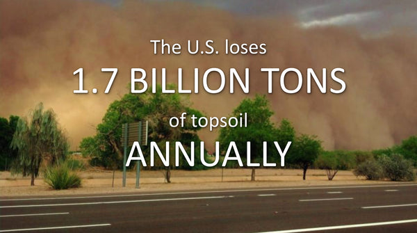 Topsoil Loss in USA