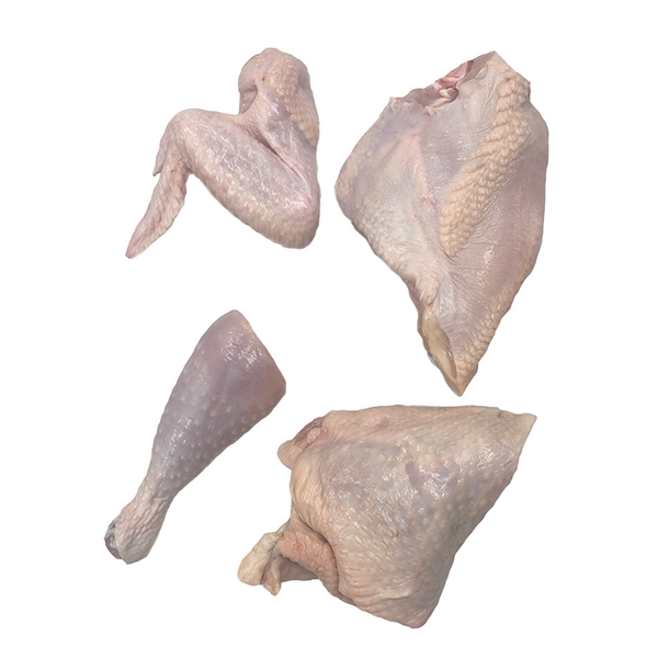 Poulet Rouge® 4-Piece Cut, Half Heritage Chicken