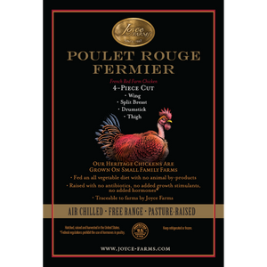 Poulet Rouge® 4-Piece Cut, Half Heritage Chicken (2 packs)