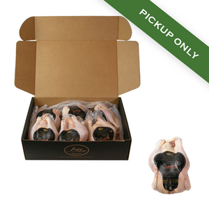 Poulet Rouge® Whole Heritage Chicken (Case of 6) - Pickup Only