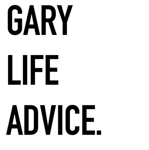 Gary Life Advice Registration