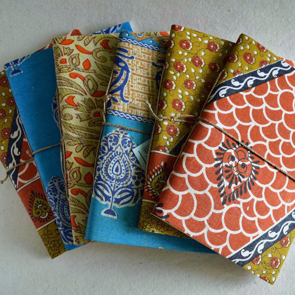 Notebooks with saree covers-medium