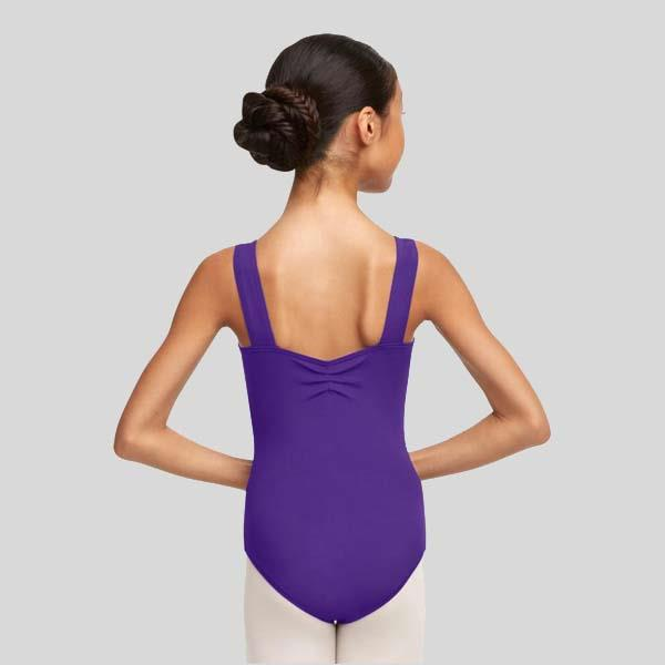 CAPEZIO PINCHED SWEETHEART WIDE STRAP LEOTARD - ADULT #TC0053W