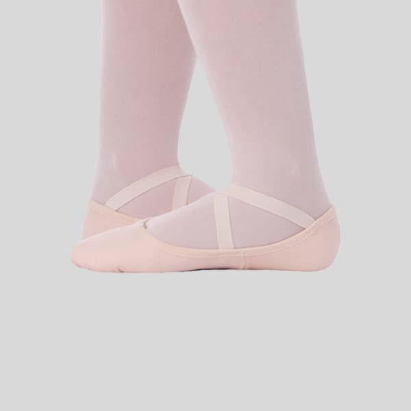 ANGELO LUZIO LOW VAMP CANVAS BALLET SLIPPER - CHILD #247C