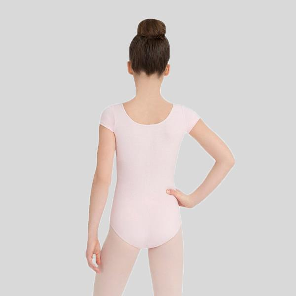 CAPEZIO SHORT SLEEVE LEOTARD - CHILD #CC400C