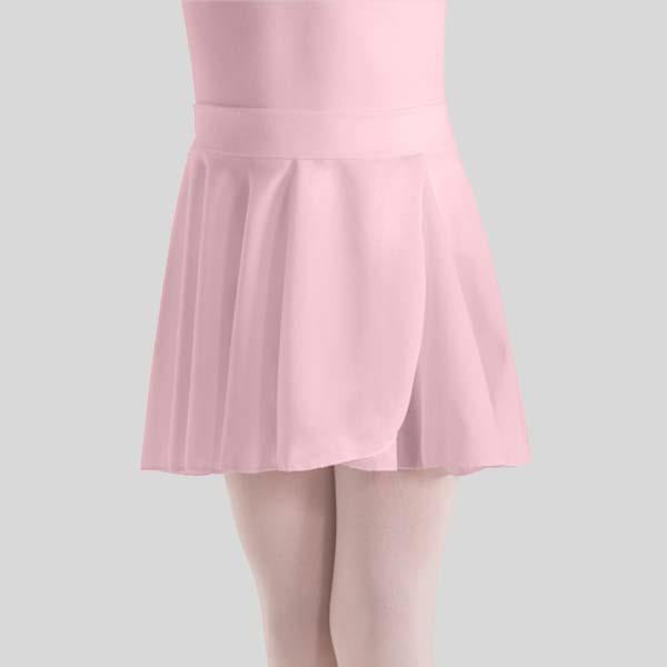 MOTIONWEAR PULL-ON WRAP CREPE SKIRT - CHILD #1011