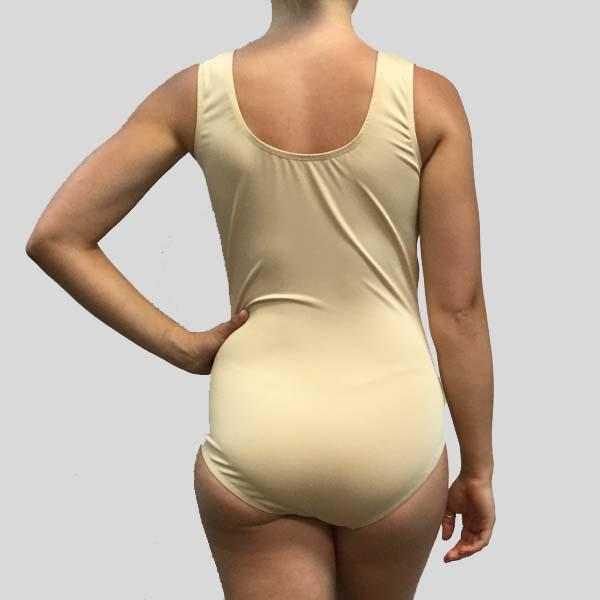 MF NUDE TANK LEOTARD - ADULT #MF112