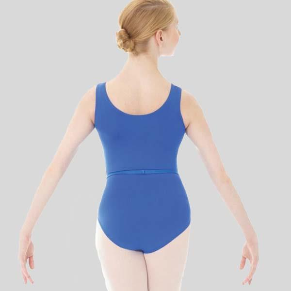 MONDOR PINCHED FRONT TANK LEOTARD - ADULT #3546