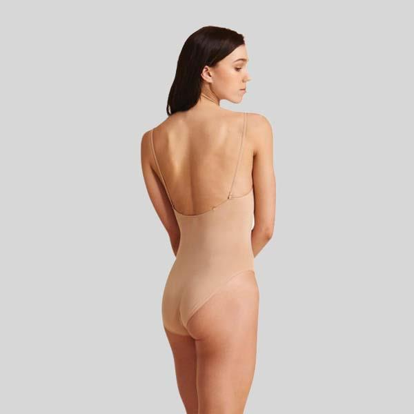 CAPEZIO SEAMLESS LEOTARD W/ TRANSITIONS STRAPS- ADULT #3680