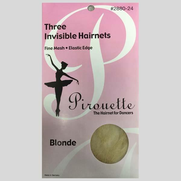 PIROUETTE BLONDE HAIRNETS - #2880-24