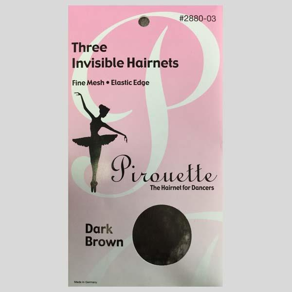 PIROUETTE DARK BROWN HAIRNET - #2880-03