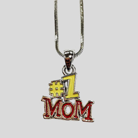 #1 MOM PENDANT NECKLACE - #2145