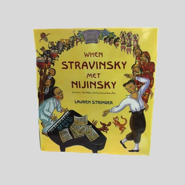 WHEN STRAVINSKY MET NIJINSKY BOOK
