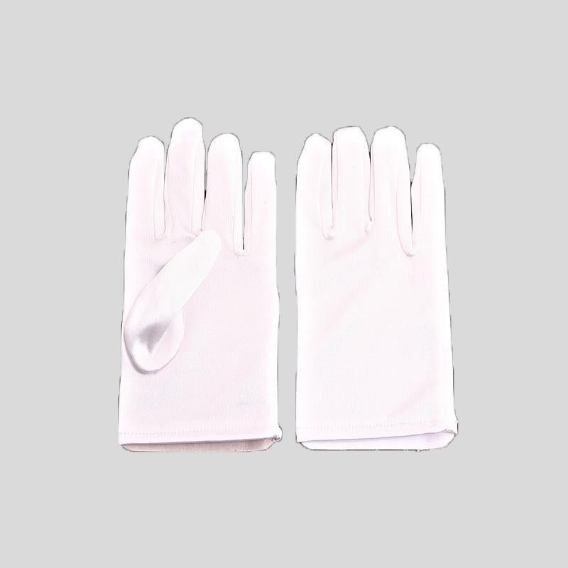 FH2 SHORT SATIN GLOVES, CHILD - #GL0012