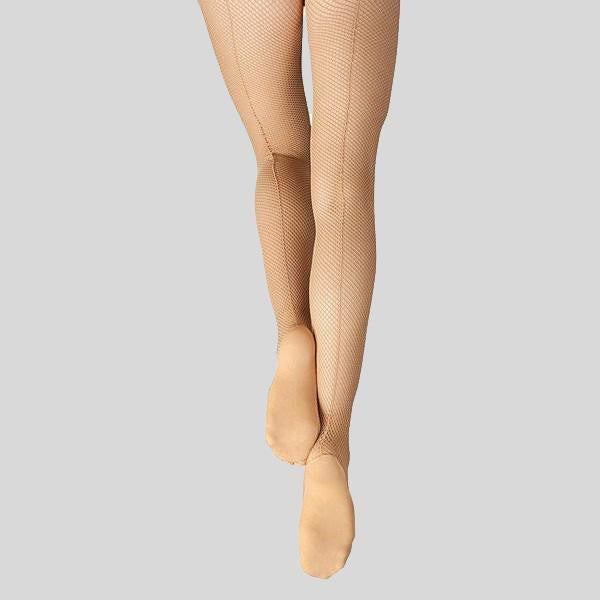 CAPEZIO PROFESSIONAL FISHNET TIGHT WITH SEAMS- ADULT #3400