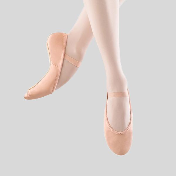 BLOCH DANSOFT LEATHER BALLET SLIPPER - CHILD #S0205G