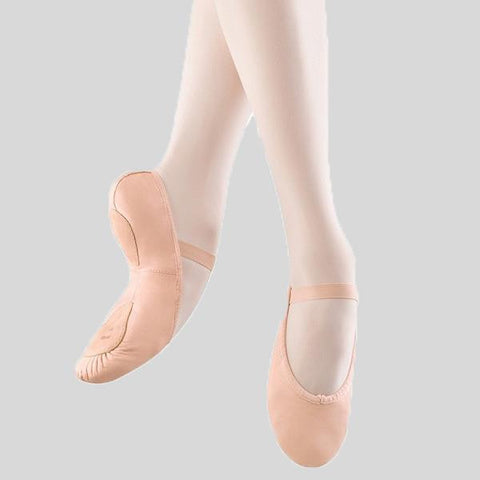 BLOCH DANSOFT II LEATHER BALLET SLIPPER- CHILD #S0258G