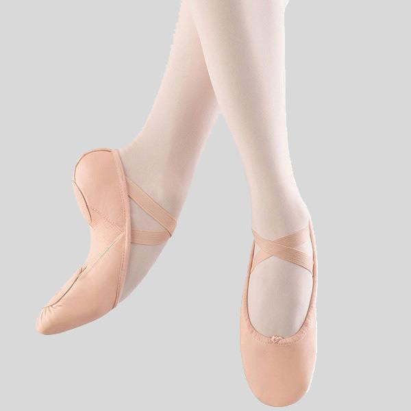 BLOCH PUMP HYBRID LEATHER BALLET SLIPPER- ADULT #S0273L
