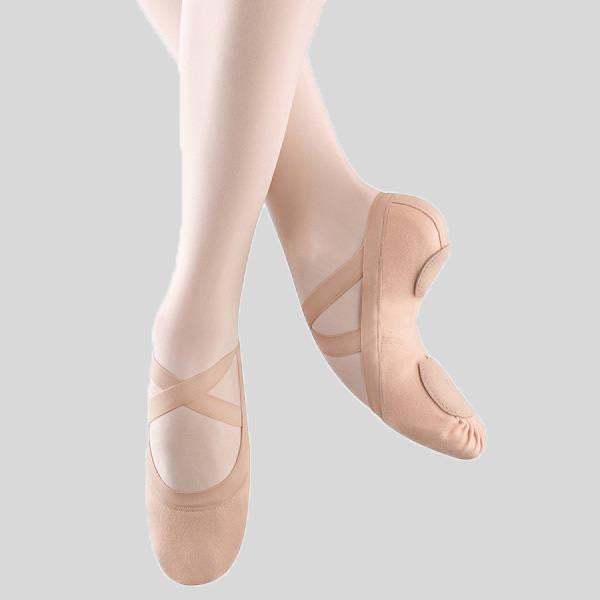 BLOCH SYNCHRONY STRETCH CANVAS BALLET SLIPPER- ADULT #S0625L
