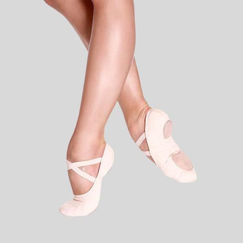 SO DANCA BLISS LIGHT PINK BALLET SLIPPER - ADULT #SD16L