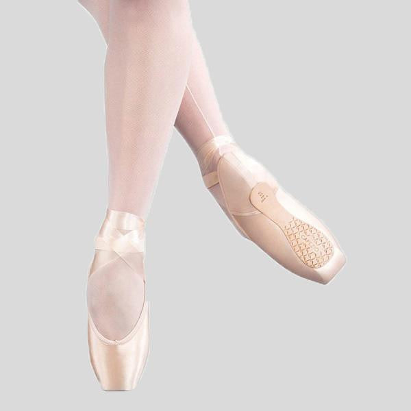 CAPEZIO AIRESS BROAD TOE POINTE SHOE (FLEXIFIRM)- ADULT #1130