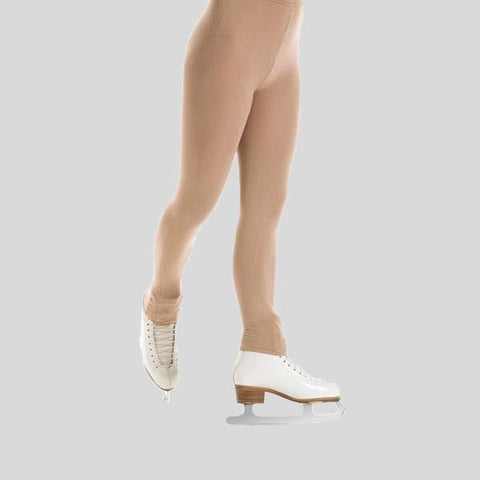 MONDOR NATURALS FOOTLESS SKATING TIGHT- ADULT #3393