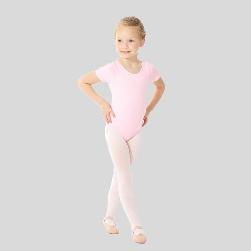 MONDOR SHORT SLEEVE LEOTARD- CHILD #40035