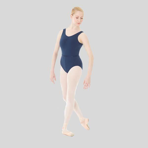 MONDOR PINCH FRONT TANK LEOTARD - ADULT #1633