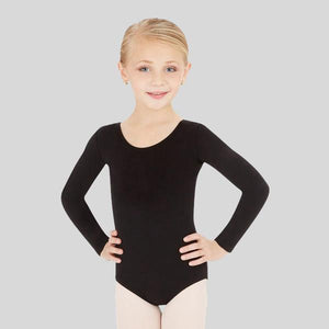CAPEZIO LONG SLEEVE LEOTARD- CHILD #CC450C