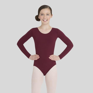 CAPEZIO LONG SLEEVE LEOTARD - CHILD #TB134C