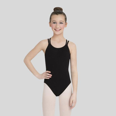 CAPEZIO DOUBLE STRAP CAMISOLE LEOTARD - CHILD #CC123C